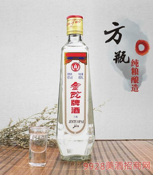 金砣牌酒方瓶45度480ml