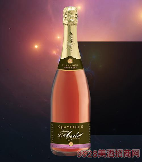 梅朵桃红香槟