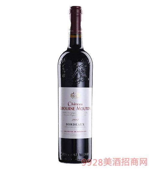 利布尔纳木桐男爵干红葡萄酒13.5度750ml