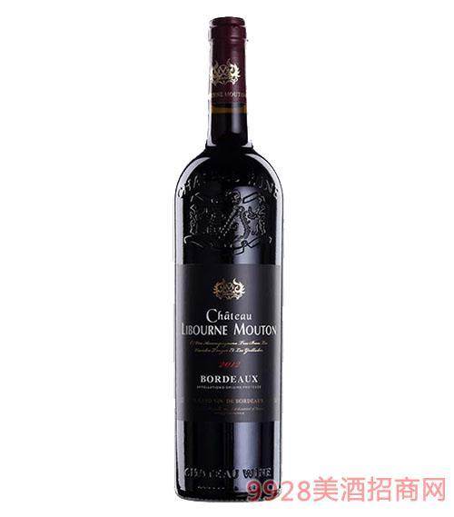 利布尔纳木桐男爵干红葡萄酒13度750ml