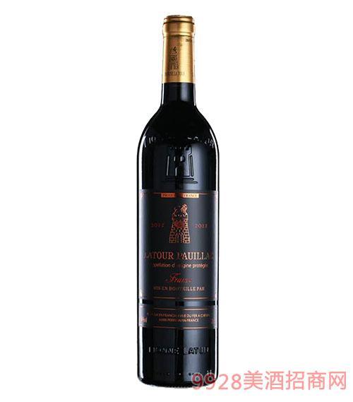 拉图波伊雅克干红葡萄酒(黑)14度750ml