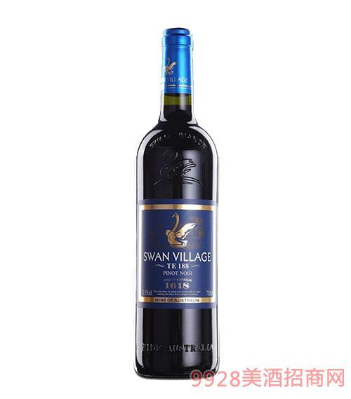 西澳天鹅干红葡萄酒12.5度750ml