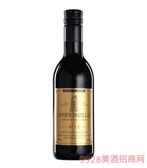 拉图波伊雅克干红葡萄酒(金标)13.5度258ml
