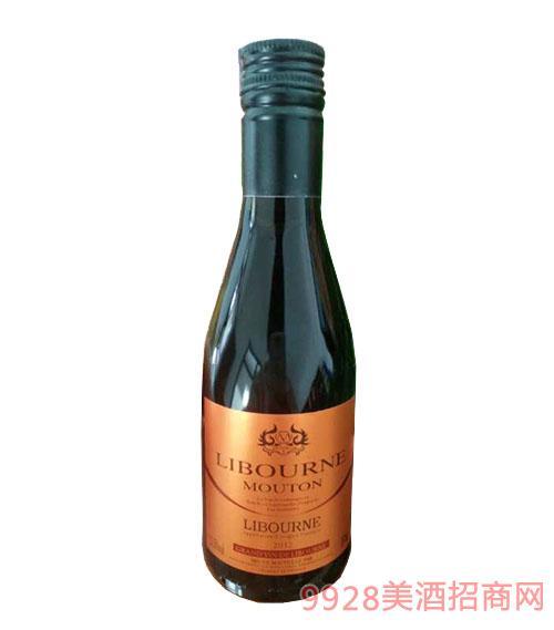 利布尔纳木桐男爵2012干红葡萄酒(金标)