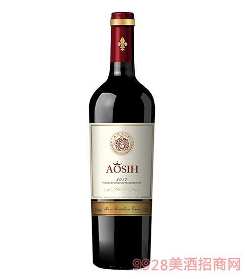 奥思皇·奥思女王干红葡萄酒