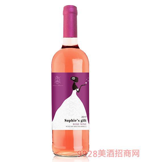 苏菲的礼物桃红葡萄酒