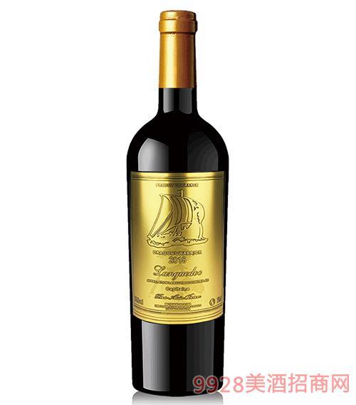龙船勇士船长朗格多克干红葡萄酒