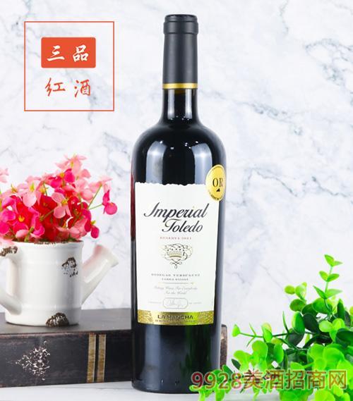 柏莱觅帝国珍藏红葡萄酒2011