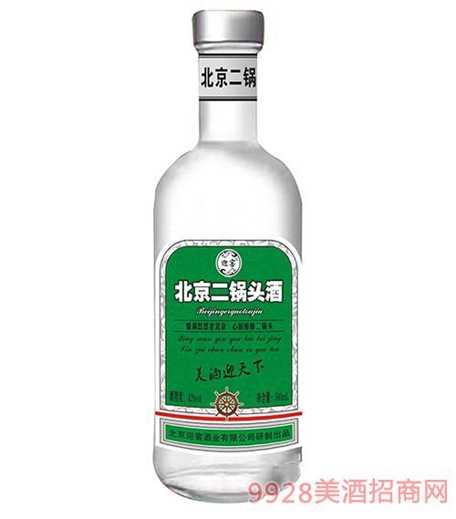 北京二锅头绿标