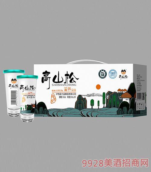 高山松苦荞白酒40.8度45mlx10
