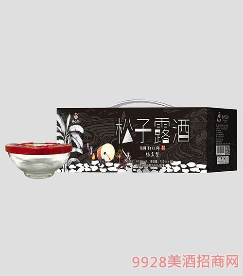 高山松松子露酒40.8度120mlx6