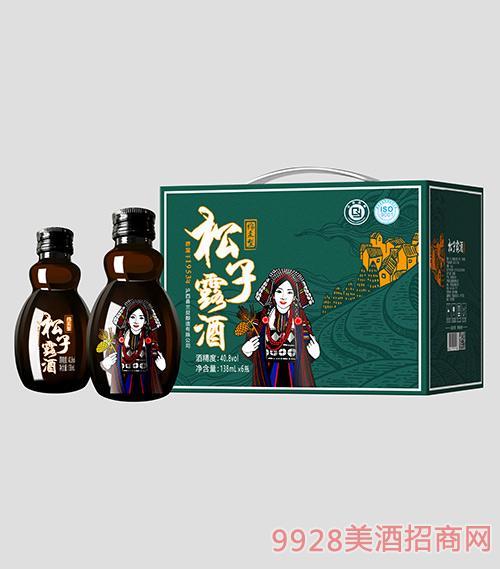 高山松松子露酒40.8度138mlx6