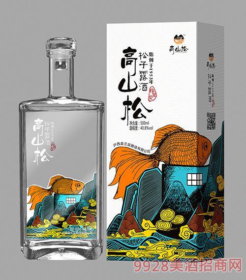 高山松松子露酒40.8度500ml