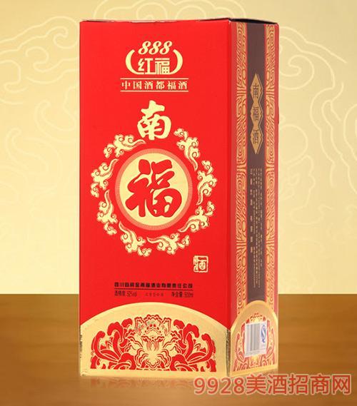 南福酒红福888-52度500ml