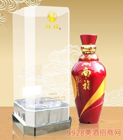 南福酒中国红45度500ml