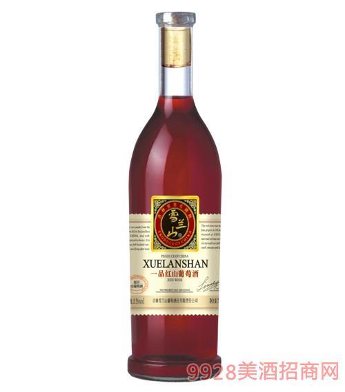 一品红山葡萄酒5.5度750ml