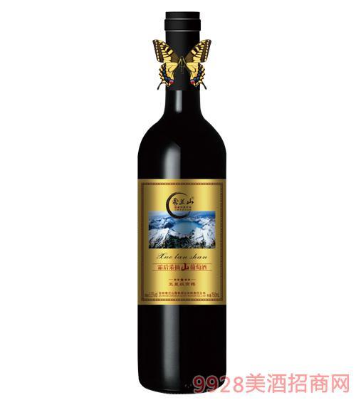 雪兰山五 星级高樽·霜后采摘山葡萄酒5.5度750ml