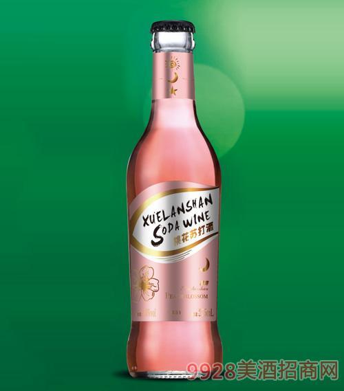 雪兰山·桃花苏打酒3.8度275ml