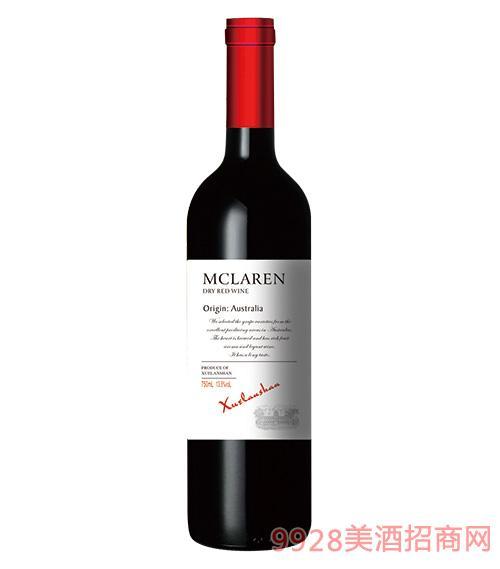 雪兰山·麦嘉伦干红葡萄酒13.5度750ml
