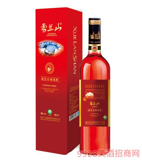 雪兰山·原汁山葡萄酒(纸盒)5.5度750ml