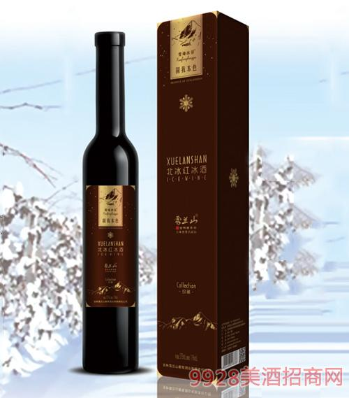 雪兰山·雪峰冰谷珍藏冰酒(北冰红)11度375ml