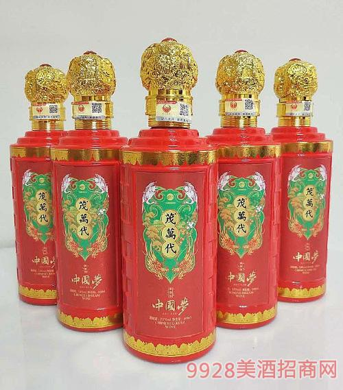 茂萬代中国梦酒53度500ml