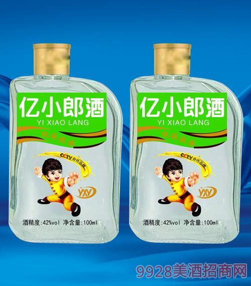 亿小郎酒(绿)42度100ml