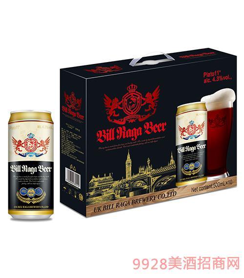 11度比尔拉格黑啤酒