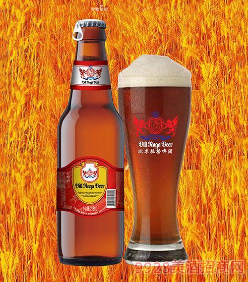 9度比尔拉格红啤218ml
