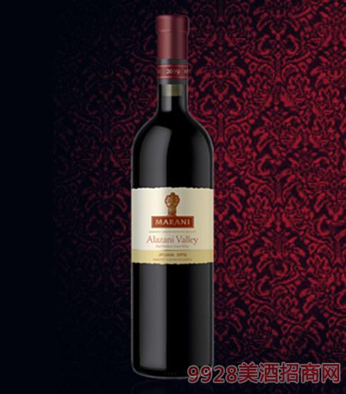 阿拉赞河谷半甜红葡萄酒12度750ml