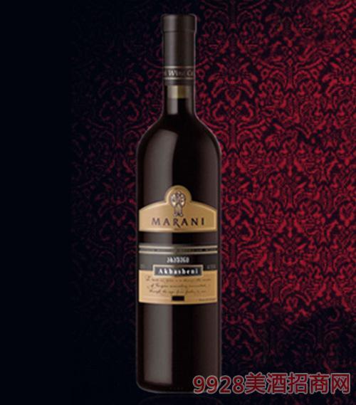 阿哈什尼半甜红葡萄酒11.5度750ml