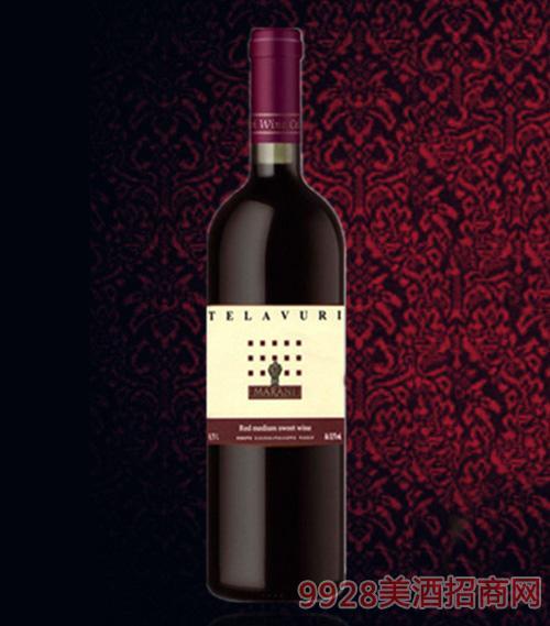 特拉乌里半甜红葡萄酒11.5度750ml