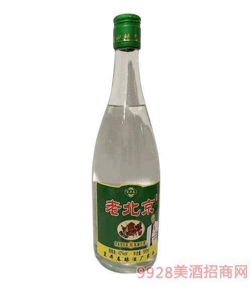 皇井春老北京陈酿白酒8-42度500ml