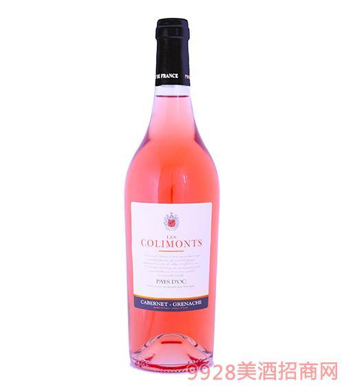 卡诺斯桃红葡萄酒13.5度750ml