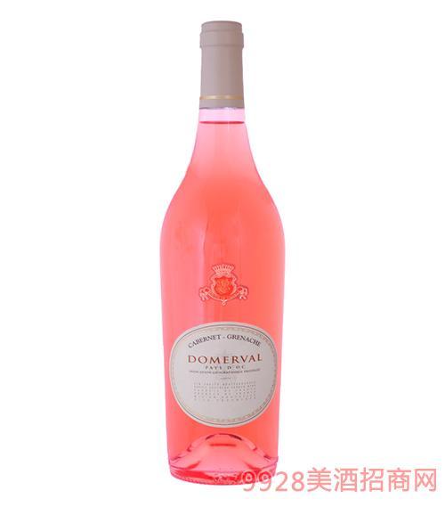 杜美莎歌海娜桃红葡萄酒13.5度750ml