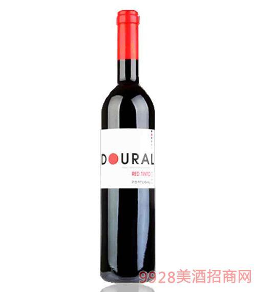 葡萄牙黄金河谷半干红葡萄酒12.5度750ml