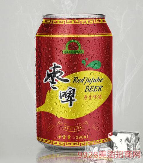 立威枣啤啤酒330ml