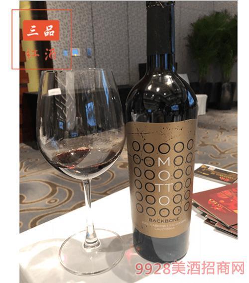 美国加州圣米歇尔酒庄赤霞珠干红葡萄酒