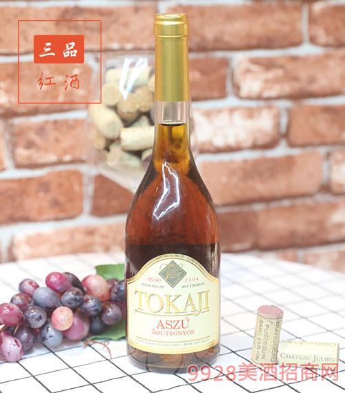 匈牙利特级托卡伊阿苏5娄贵腐葡萄酒