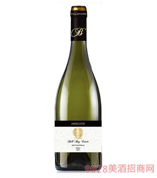 贝壳湾精选级莫斯卡托甜白葡萄酒