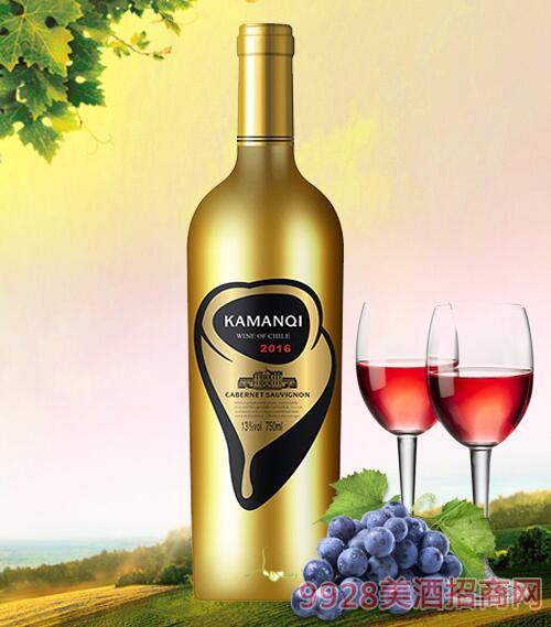 卡曼琪埃伯特干红葡萄酒13度750ml