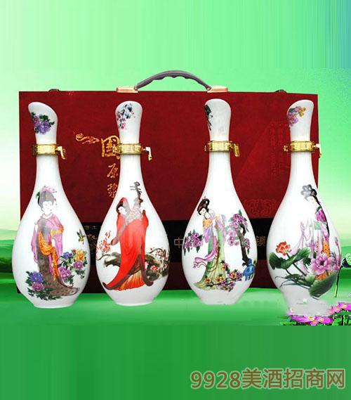 四大美人窖藏酒