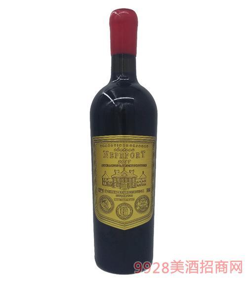 法国诺波特宏图庄园干红葡萄酒14.3度750ml