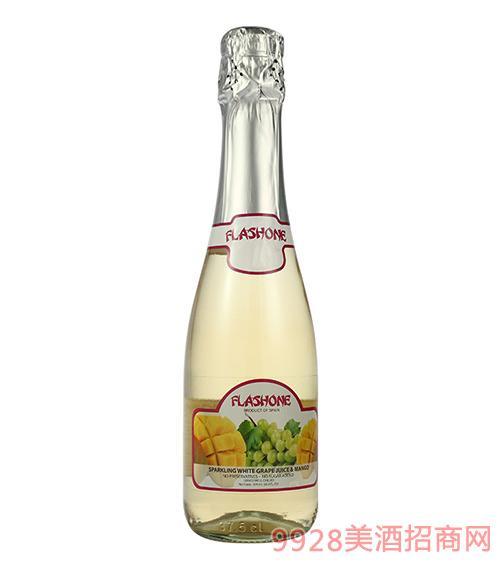 飞吻无醇气泡酒白葡萄&芒果味