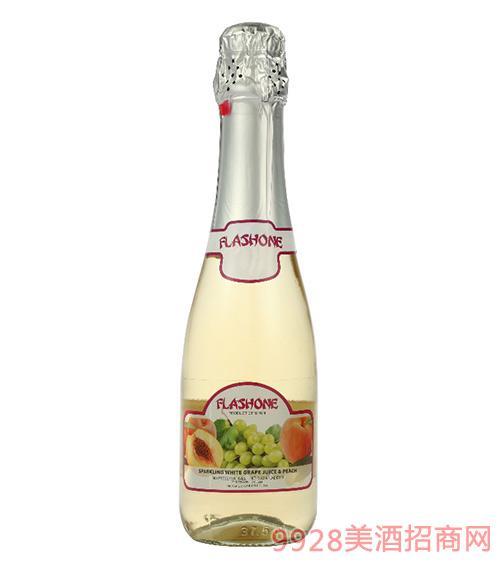 飞吻无醇气泡酒白葡萄&桃子味
