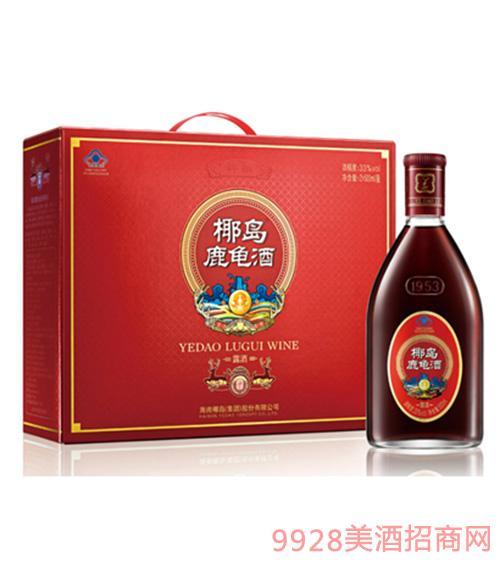 33度椰�u鹿��酒(�Y盒�b)500ml