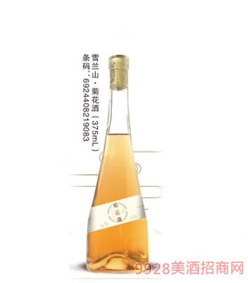 雪�m山菊花酒375ml