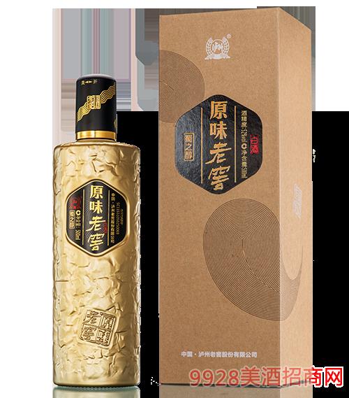 原味老窖蜀之醇酒52度500ml
