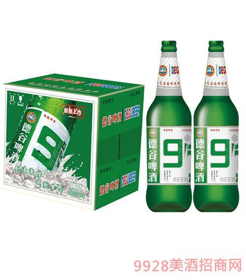 德谷9度冰爽啤酒500mlX12瓶