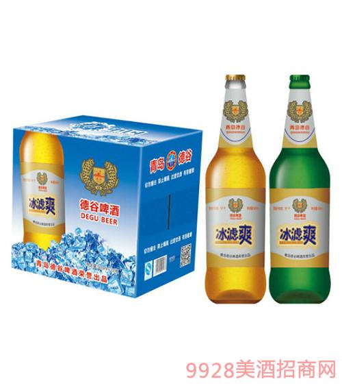 德谷冰虑爽啤酒500mlX12瓶